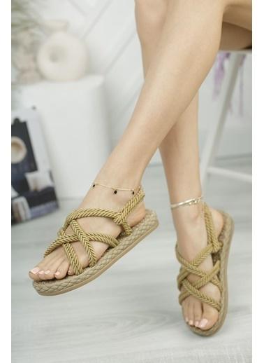 Muggo Sandalet Bej